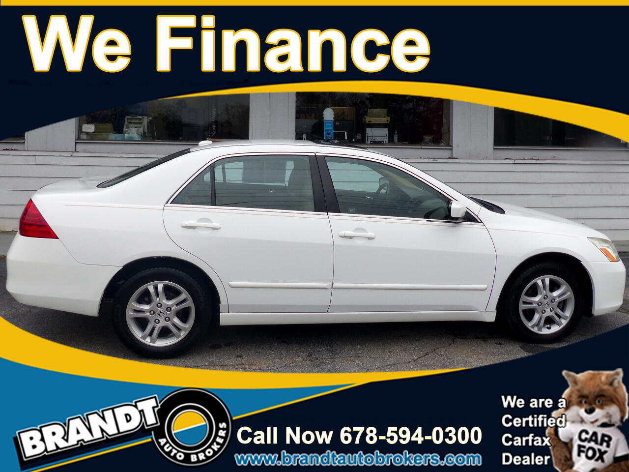 Honda Accord EX-L Sedan AT 2007