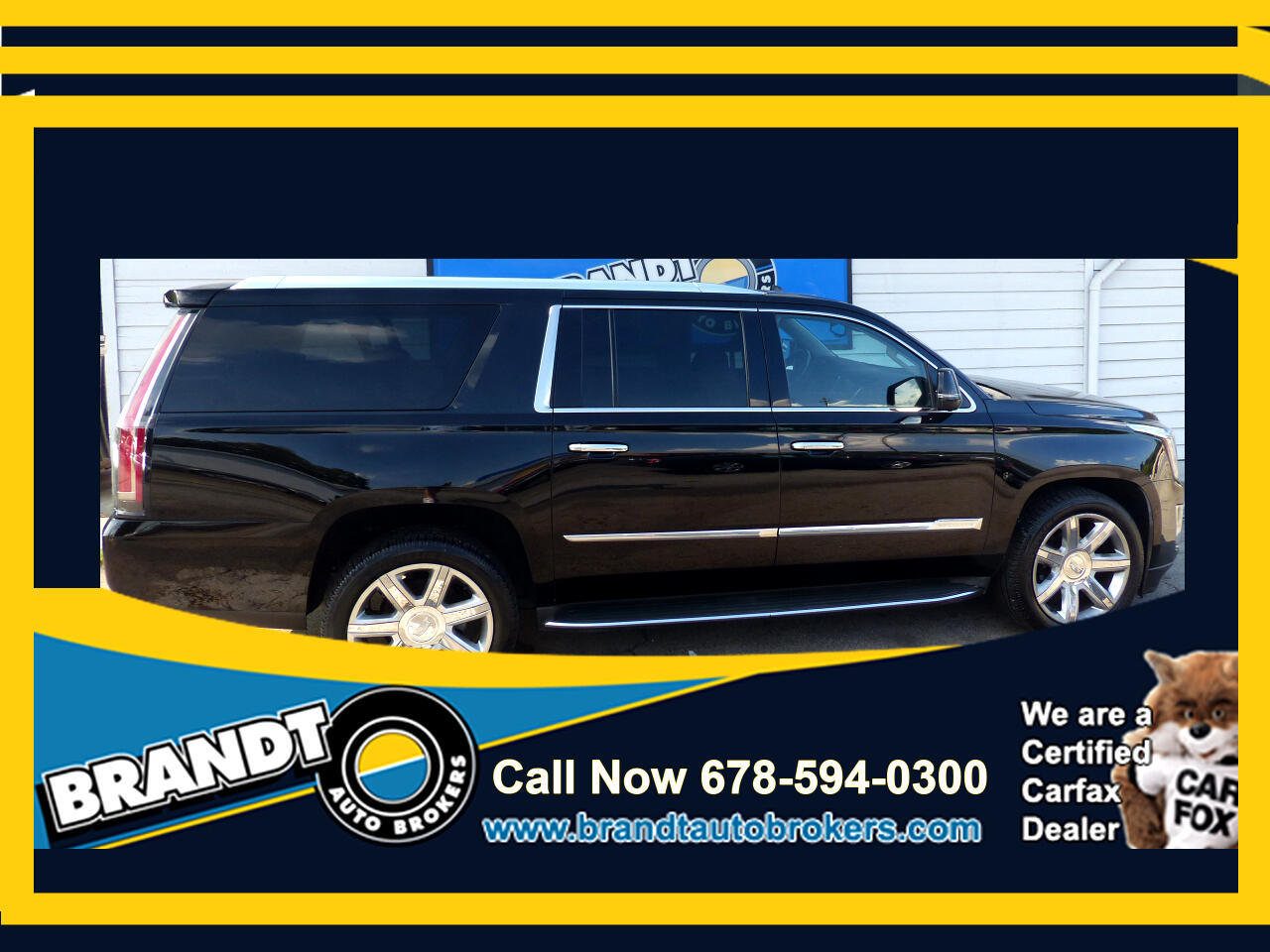 Cadillac Escalade ESV 2WD Luxury 2015