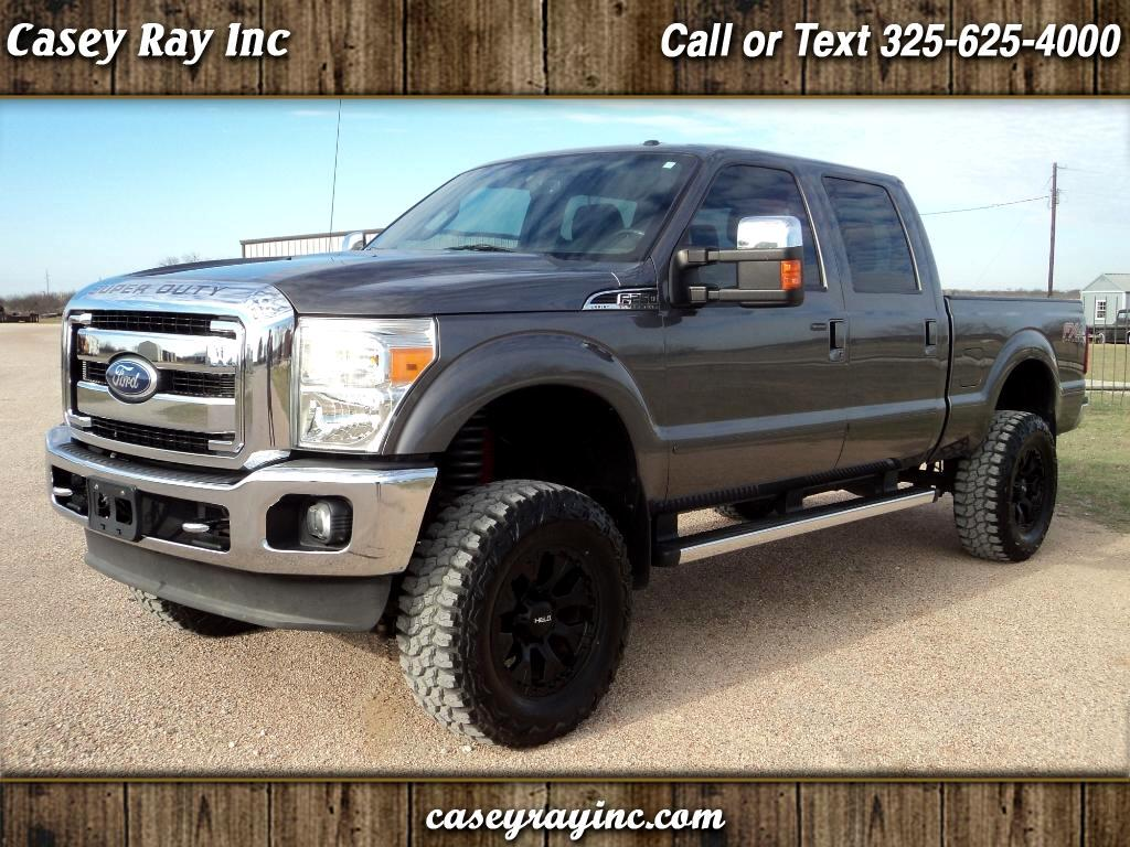 2011 Ford Super Duty F-250 SRW Lariat 4WD Crew Cab 6.75' Box