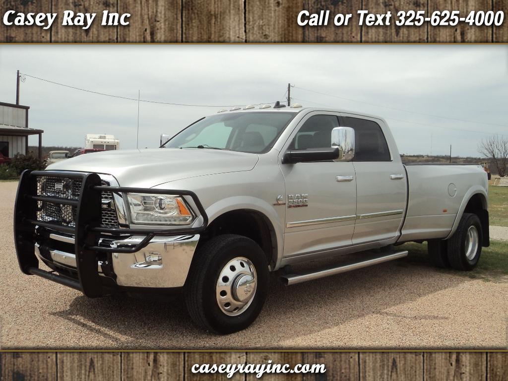 """2013 RAM 3500 4WD Crew Cab 169"""" Laramie"""