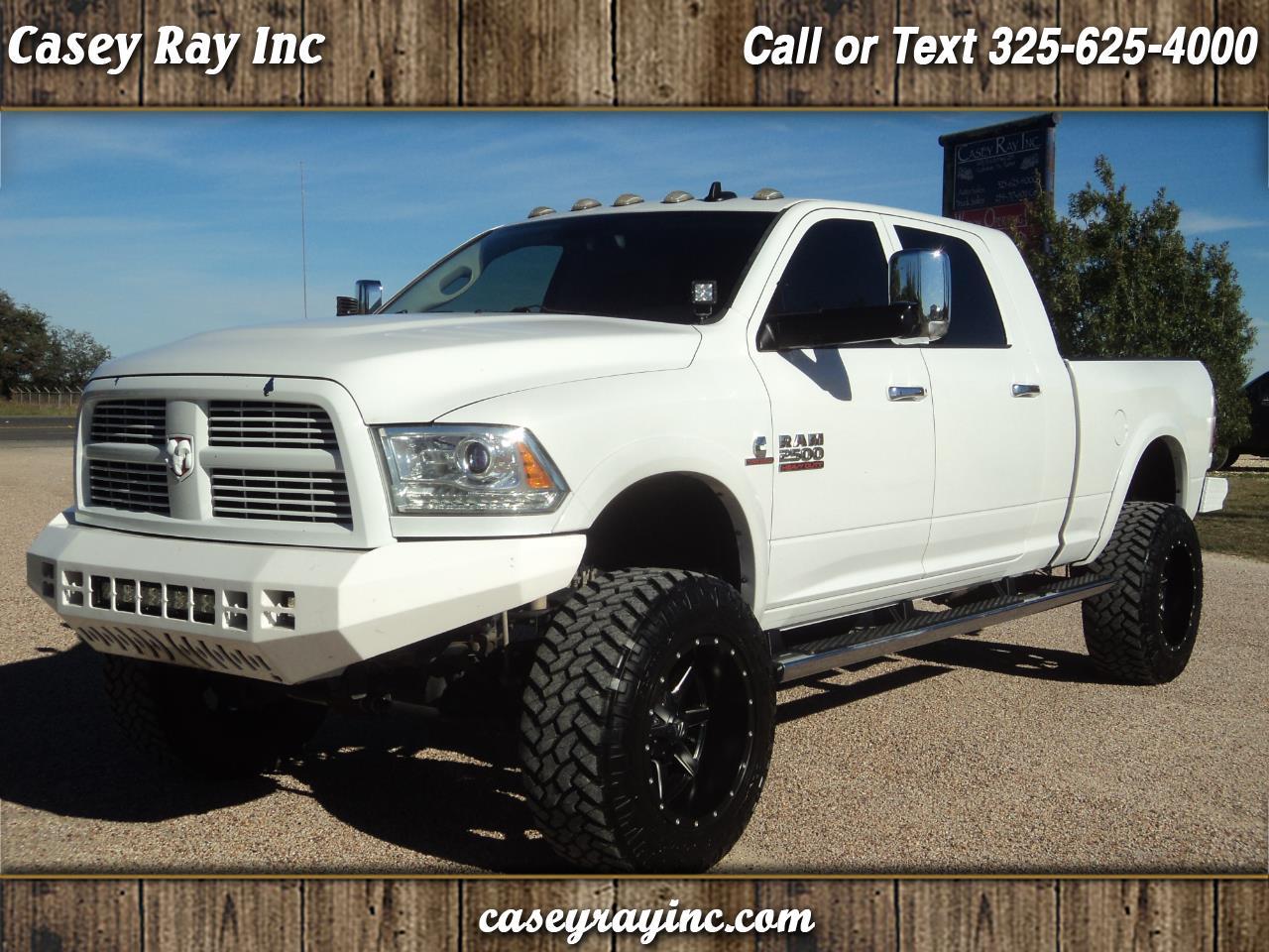 """2013 RAM 2500 4WD Mega Cab 160.5"""" Laramie"""