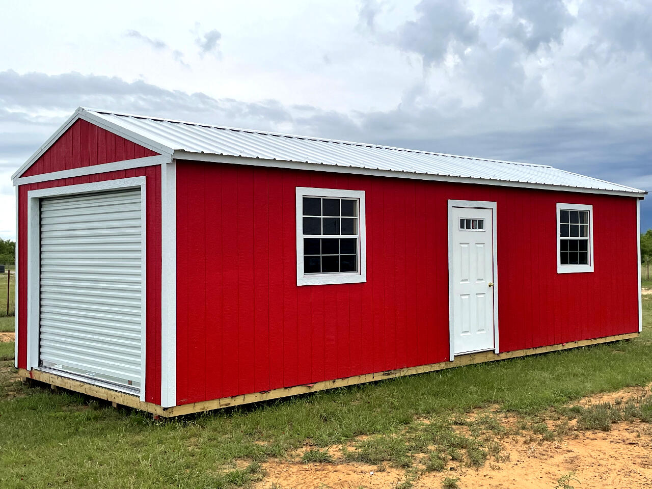 2021 Premier Portable Buildings Garage