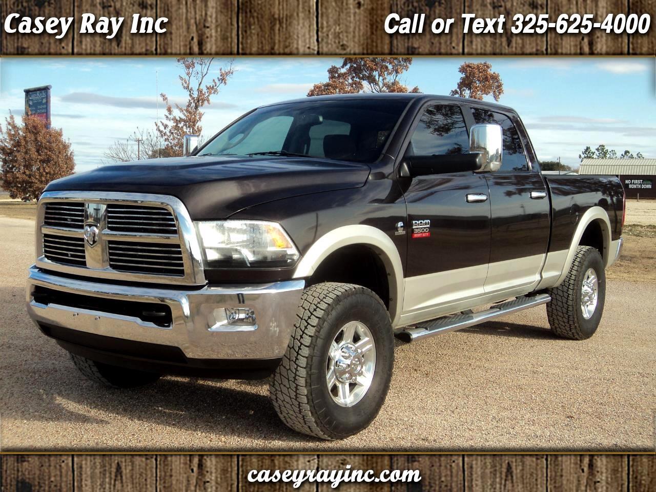 """2010 Dodge Ram 3500 4WD Crew Cab 149"""" Laramie"""