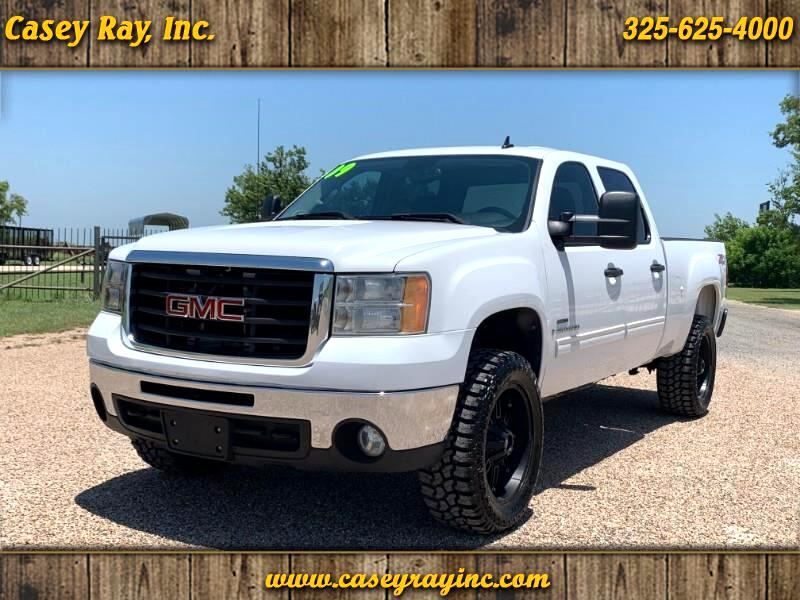 2009 GMC Sierra 2500HD Crew Cab Short Bed 4WD