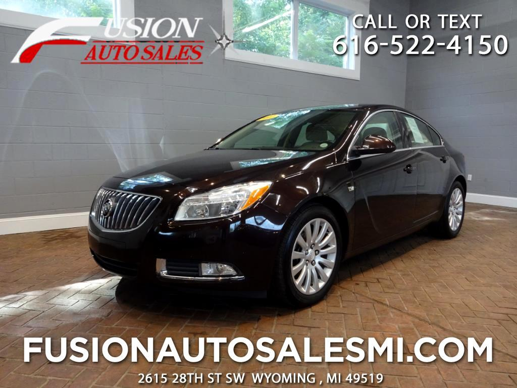 2011 Buick Regal 4dr Sdn CXL Turbo TO1 (Russelsheim) *Ltd Avail*