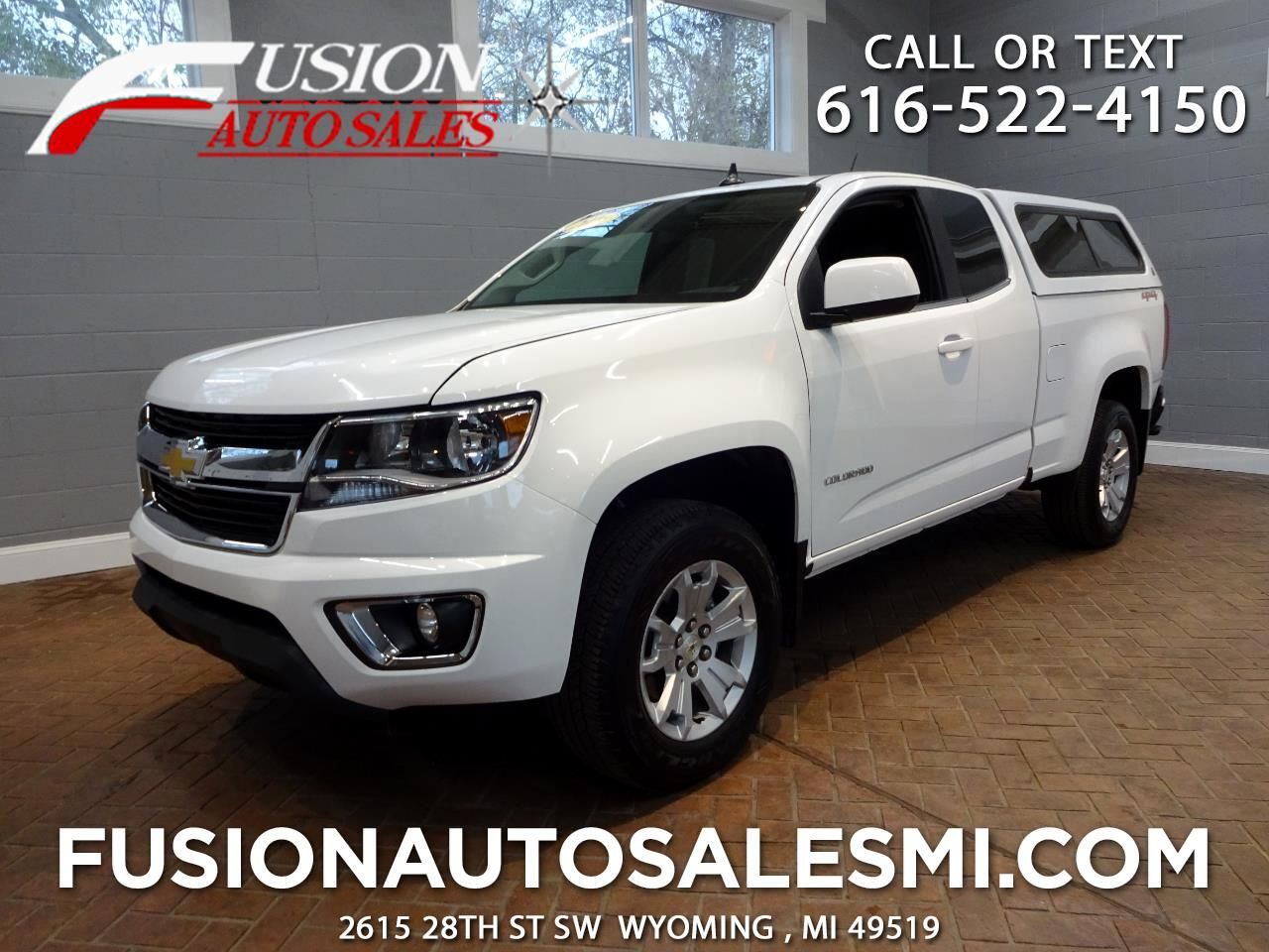 "2016 Chevrolet Colorado 4WD Ext Cab 128.3"" LT"