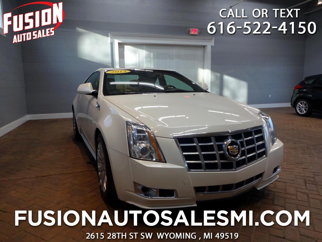 Cadillac CTS Coupe 2dr Cpe Premium AWD 2013
