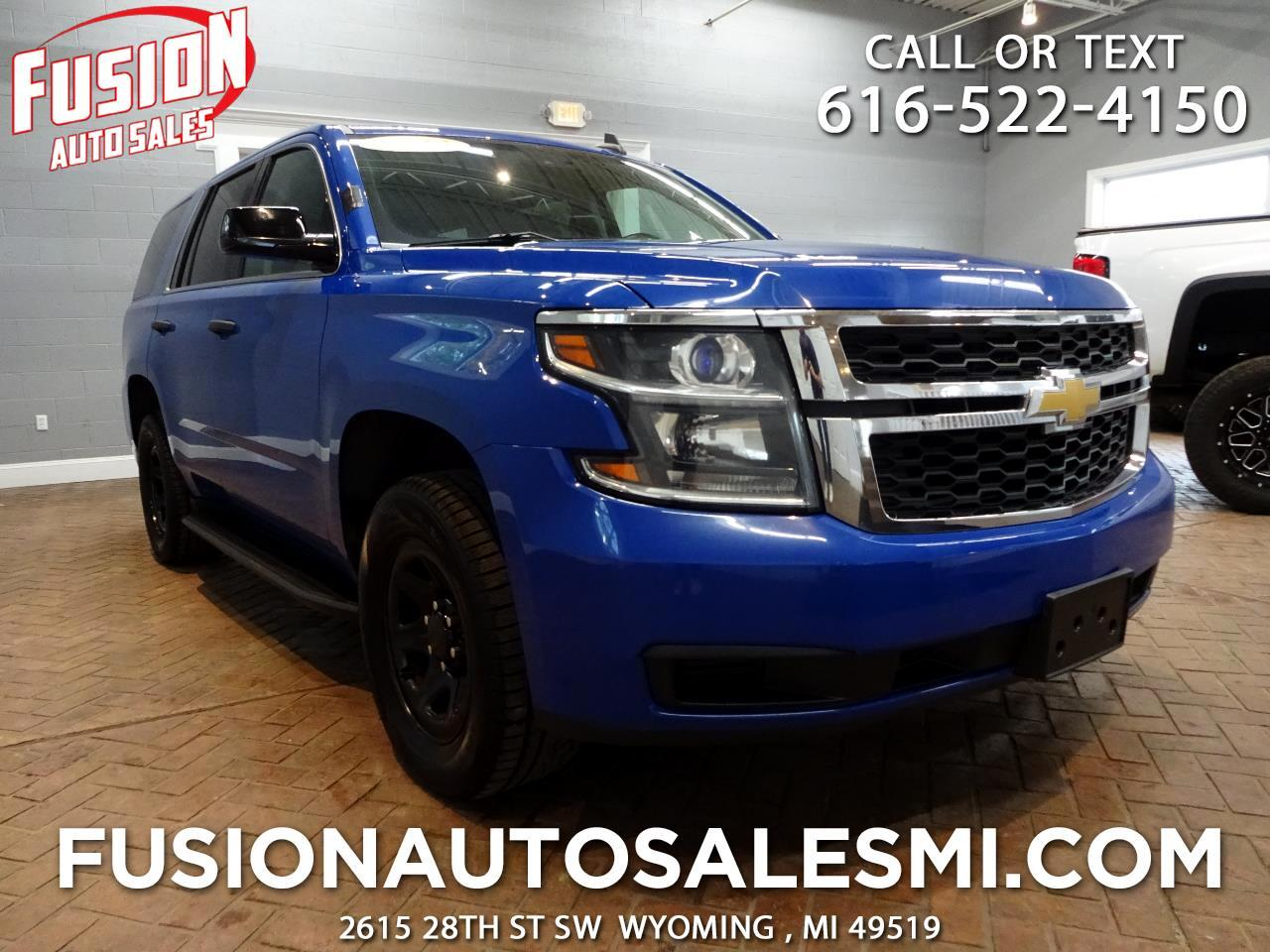 Chevrolet Tahoe 4WD Police 2015