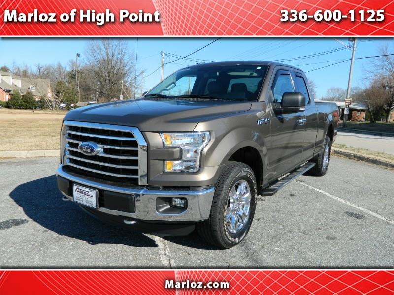 2015 Ford F-150 FX4 SuperCab 4WD