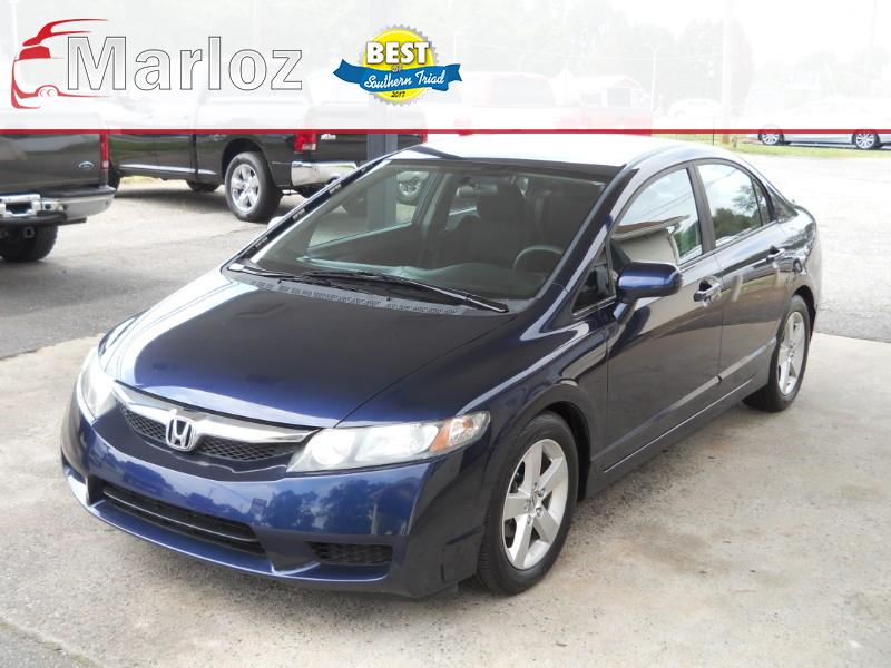 Honda Civic LX-S Sedan 5-Speed AT 2010