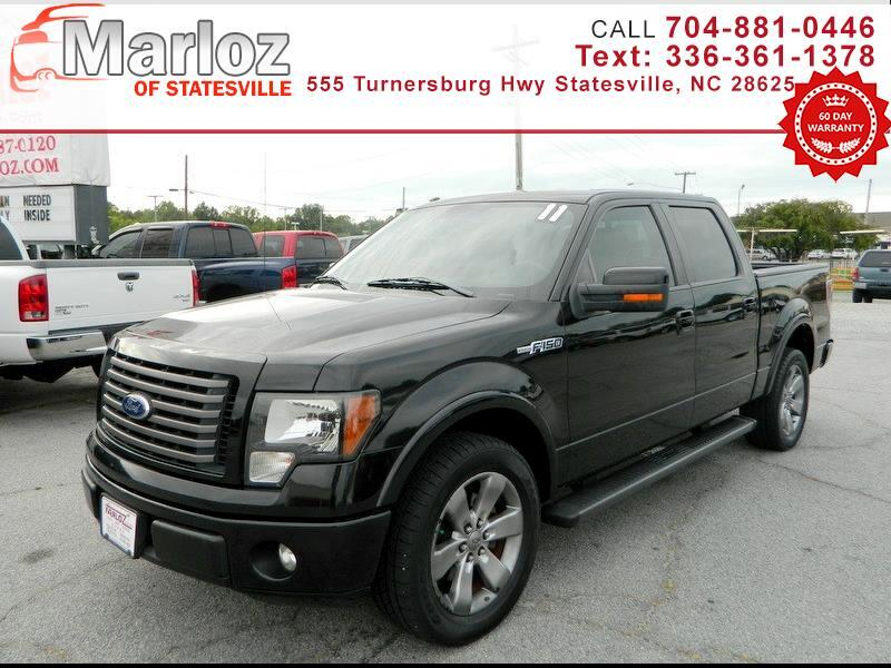 "Ford F-150 2WD SuperCrew 145"" FX2 2011"