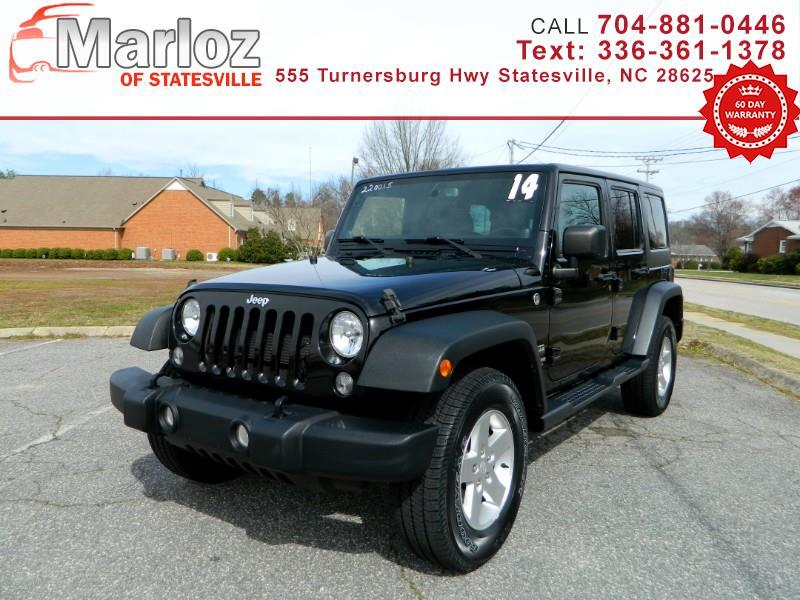 Jeep Wrangler Unlimited Sport 4WD 2014