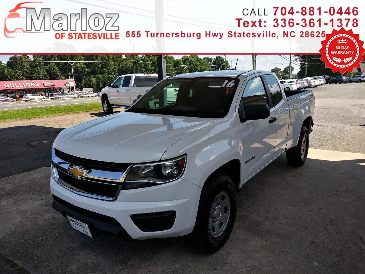 "Chevrolet Colorado 4WD Ext Cab 128.3"" WT 2016"