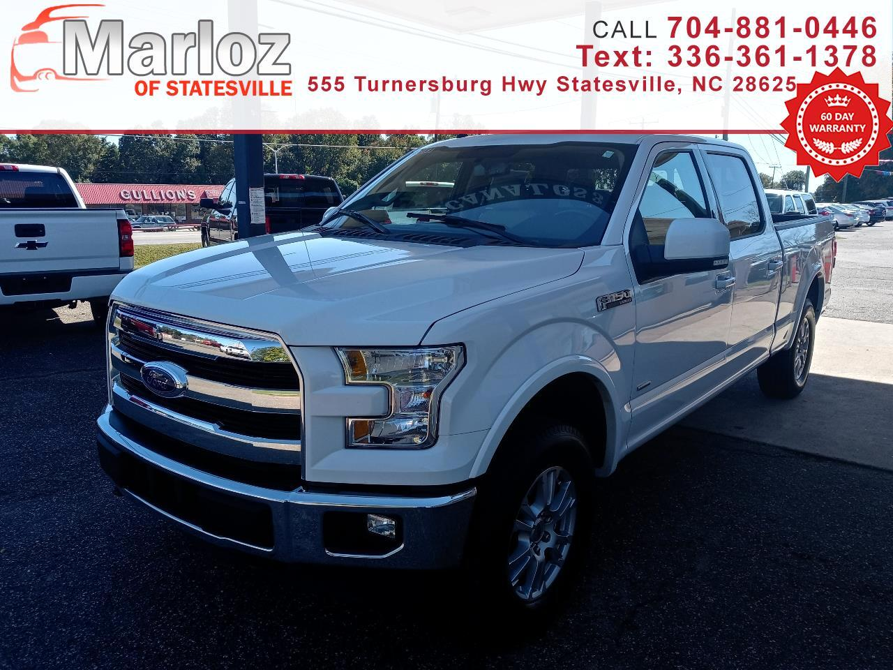 Ford F-150 Lariat 4WD SuperCrew 5.5' Box 2017