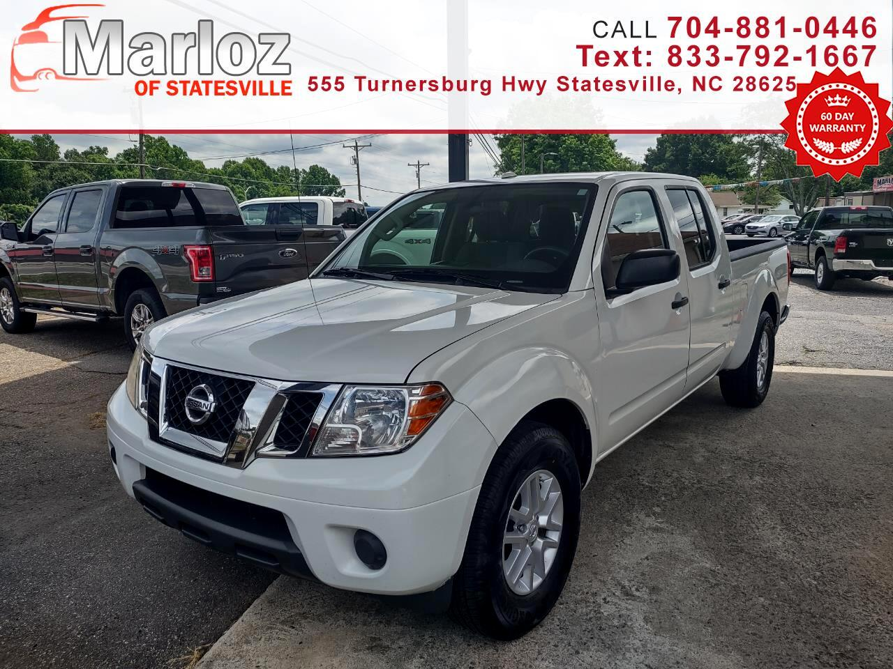 Nissan Frontier Crew Cab 4x2 SV V6 Auto Long Bed 2017