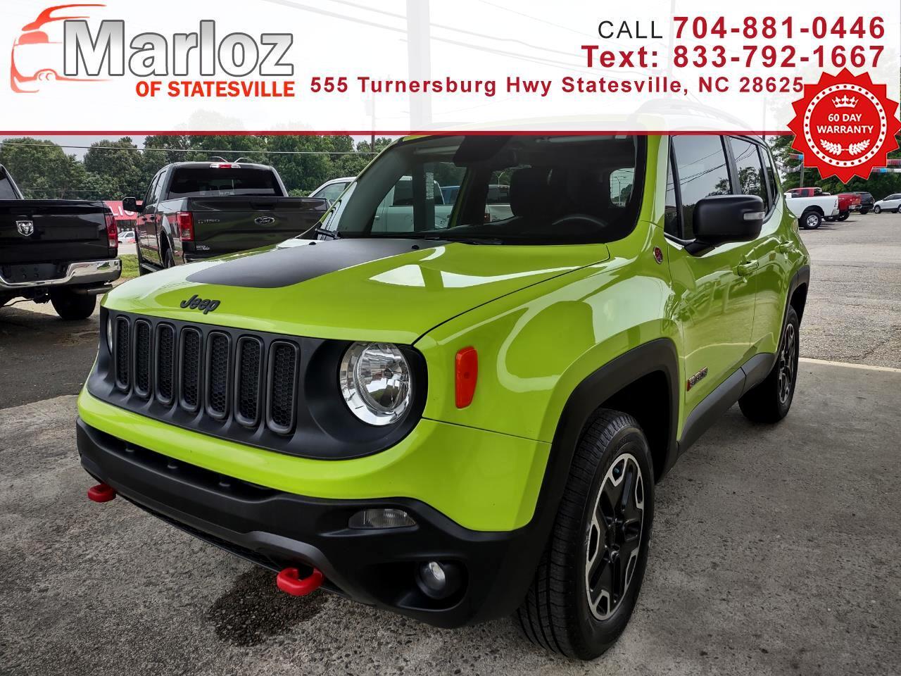 Jeep Renegade Trailhawk 4x4 2017
