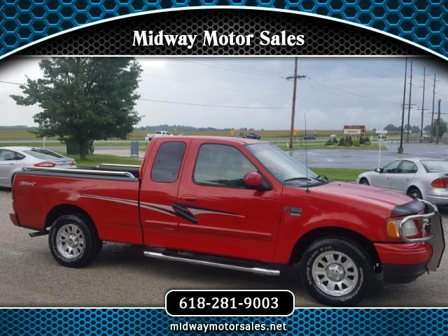 "2002 Ford F-150 2WD Supercab 133"" XLT"