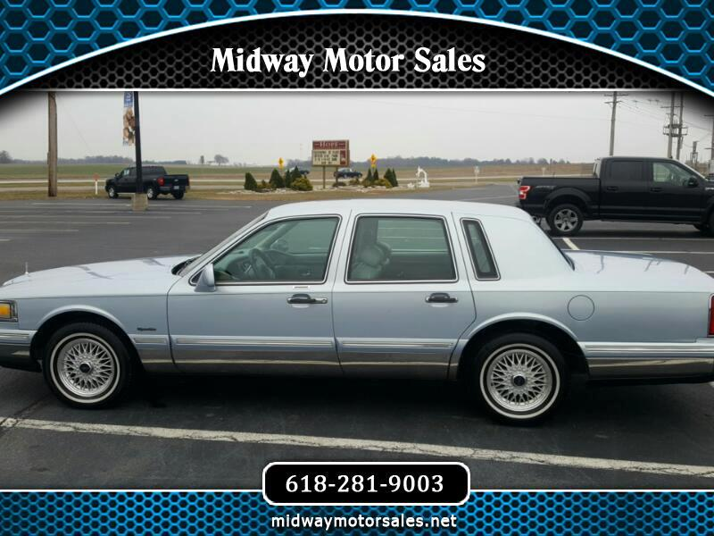 Used 1997 Lincoln Town Car For Sale In Columbia Il 62236 Midway