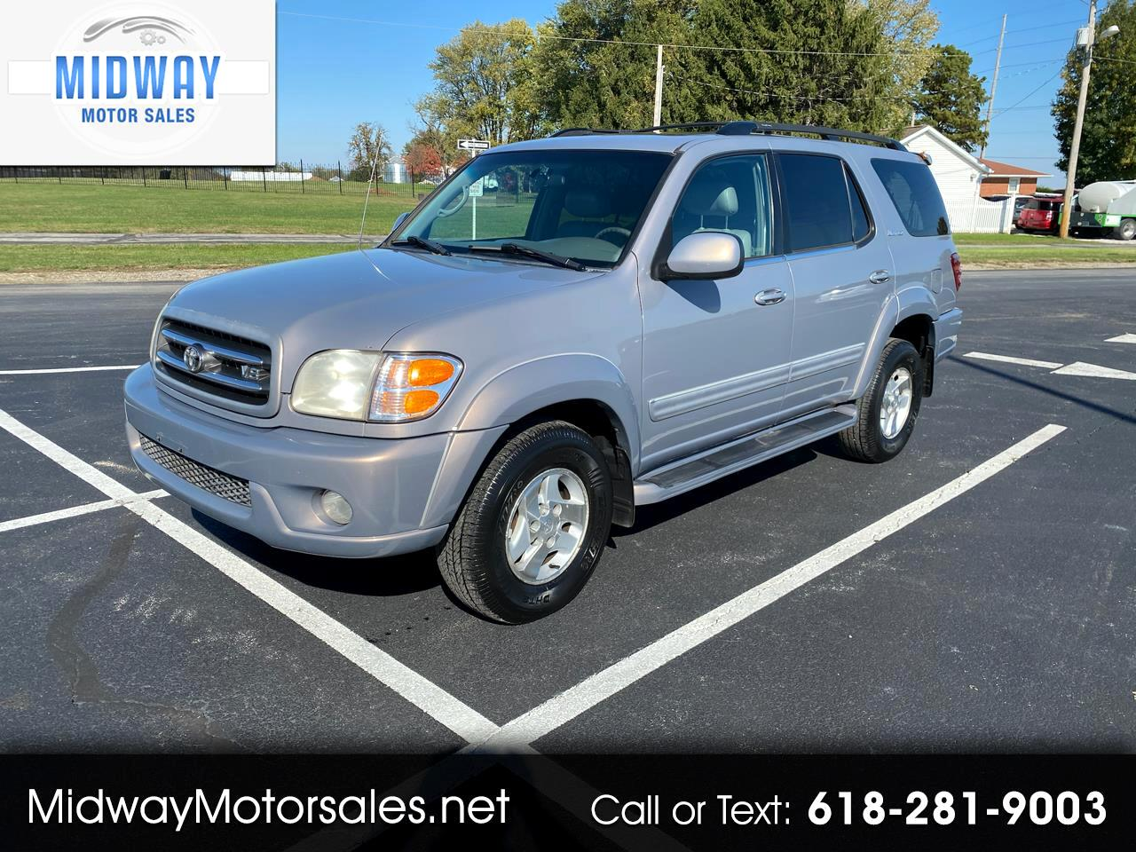 Toyota Sequoia Limited 4WD 2001