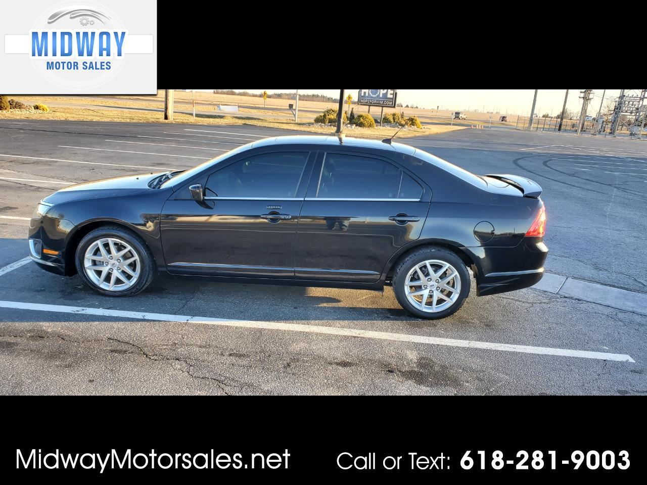 Ford Fusion I4 SEL 2011