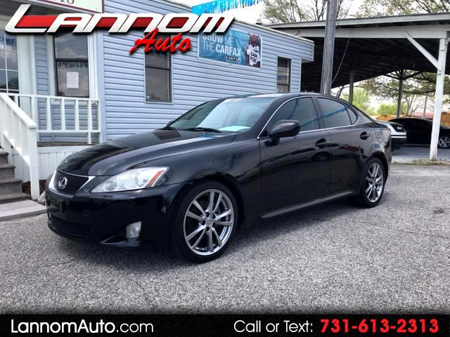 2008 Lexus IS IS 250 6-Speed Manual