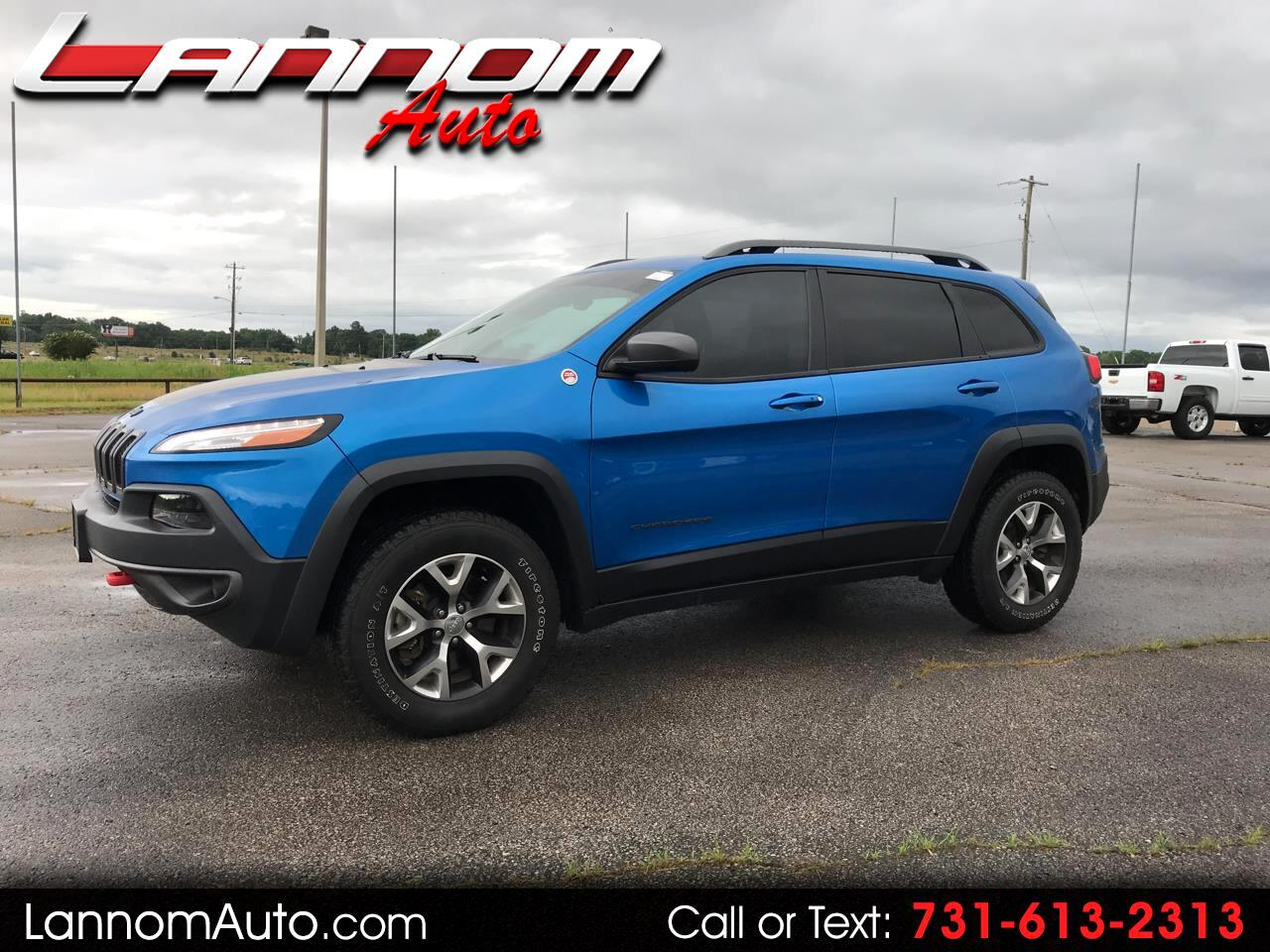 2017 Jeep Cherokee Trailhawk 4x4 *Ltd Avail*