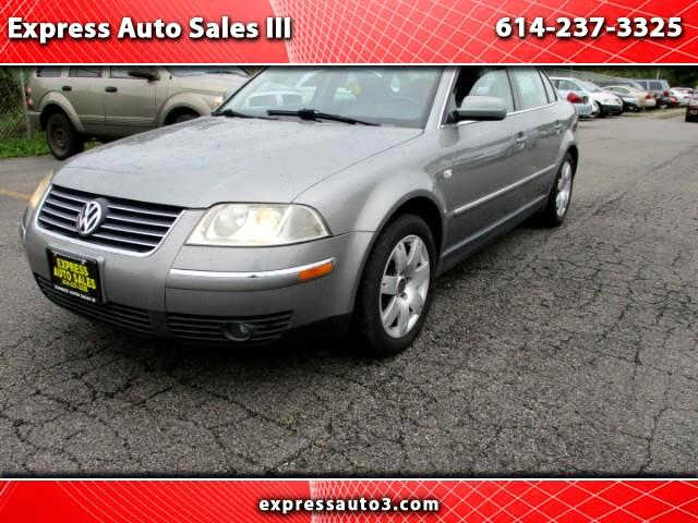 buy here pay here 2002 volkswagen passat glx 4 motion for sale in columbus oh 43227 express auto. Black Bedroom Furniture Sets. Home Design Ideas