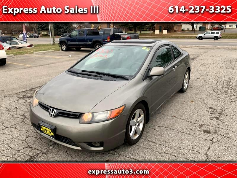 buy here pay here 2006 honda civic ex for sale in columbus oh 43227 express auto sales iii. Black Bedroom Furniture Sets. Home Design Ideas