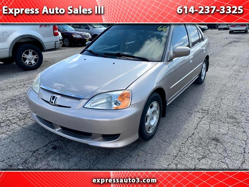 used 2003 honda civic hybrid hybrid for sale in columbus oh 43227 express auto sales iii. Black Bedroom Furniture Sets. Home Design Ideas