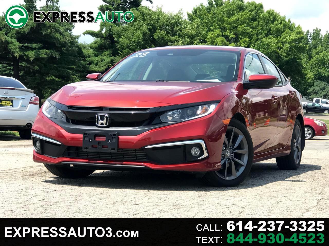 Honda Civic Sedan EX CVT 2019