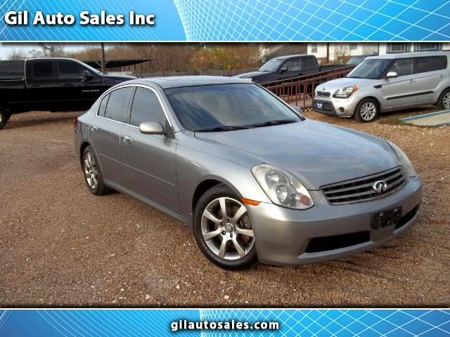 2006 Infiniti G35 Sedan with Leather