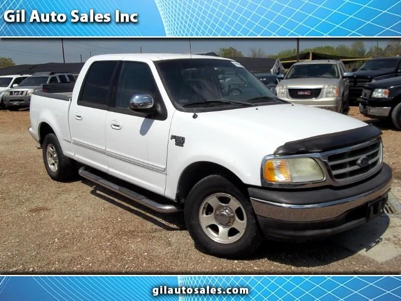 "Ford F-150 2WD SuperCrew 139"" XLT 2002"