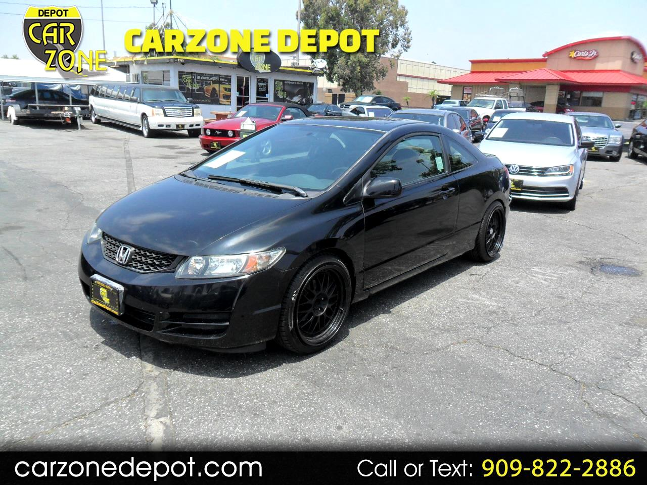 2011 Honda Civic EX Coupe 5-Speed MT