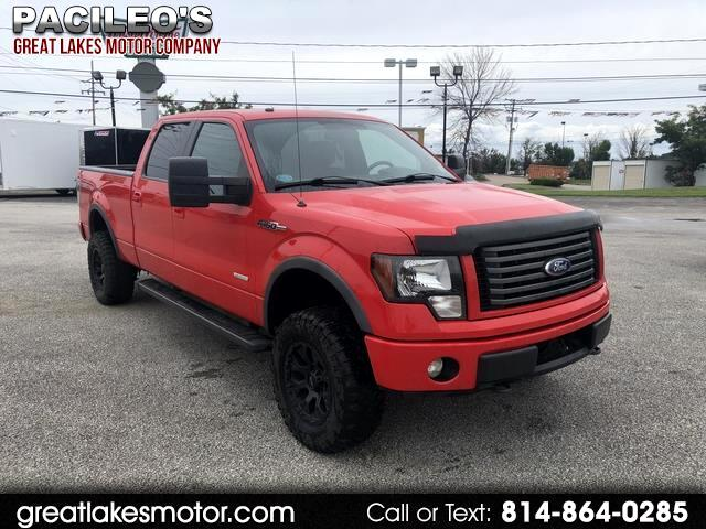"""2011 Ford F-150 4WD SuperCrew 157"""" FX4"""