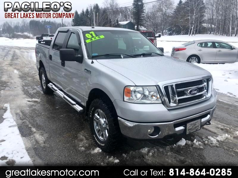 "2007 Ford F-150 4WD SuperCrew 150"" XLT"