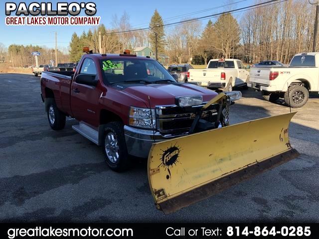 """2013 Chevrolet Silverado 2500HD 4WD Reg Cab 133.7"""" Work Truck"""