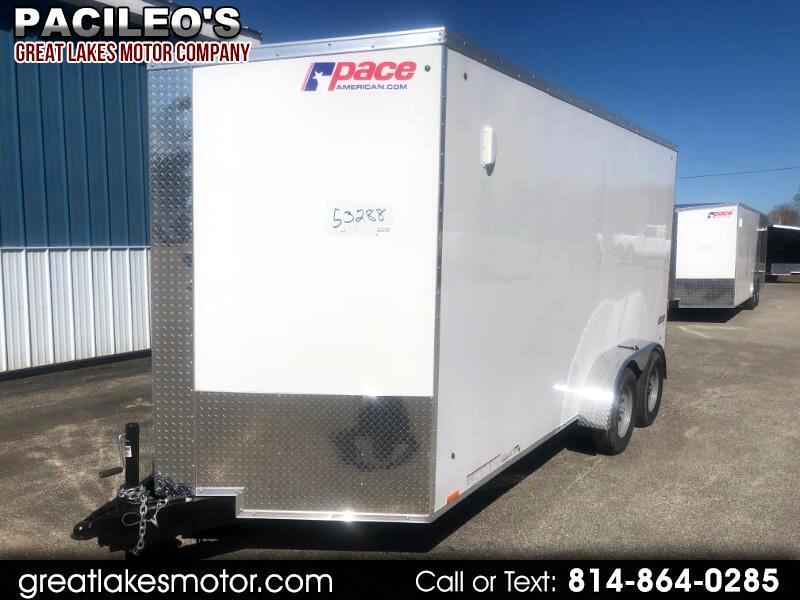 2020 Pace American 7X16 Journey SE Cargo