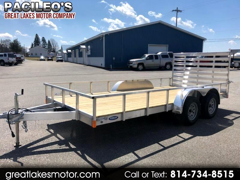Everlite 7x16 All Aluminum Tandem Axle Utility  2020