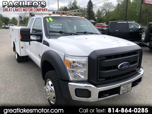 "2014 Ford Super Duty F-450 DRW 4WD SuperCab 162"" WB 60"" CA XL"