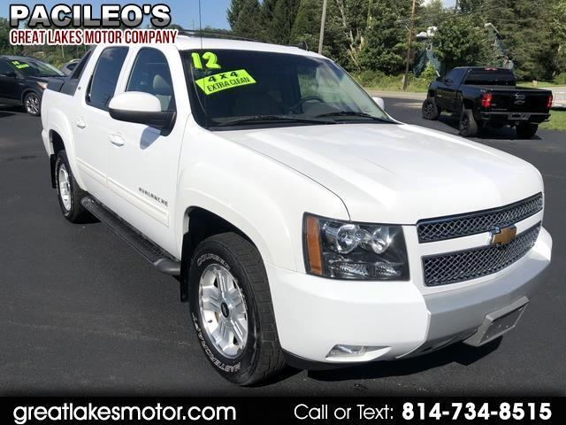 Chevrolet Avalanche LT3 4WD 2012