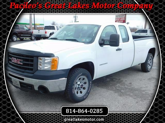 2011 GMC Sierra 1500 Ext. Cab Long Bed Work Truck 4WD