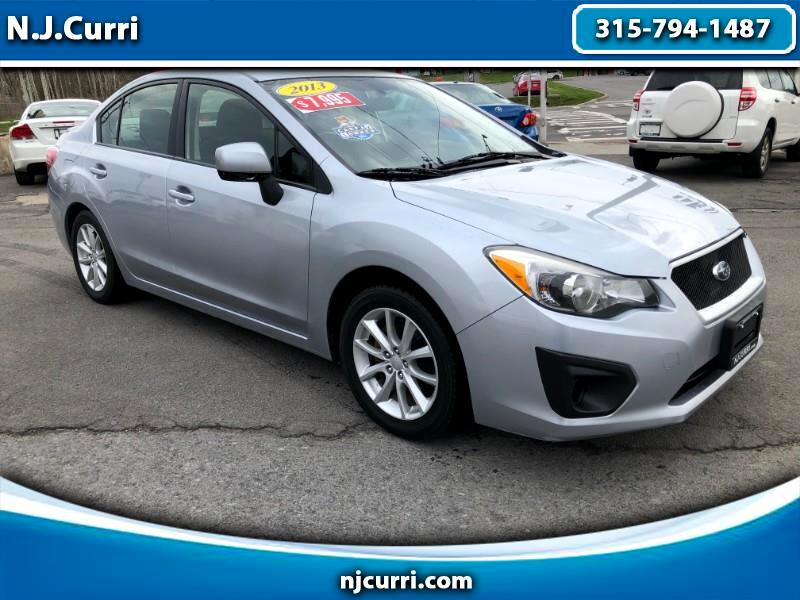 Subaru Impreza 2.0i Premium 4-Door w/All Weather Package 2013