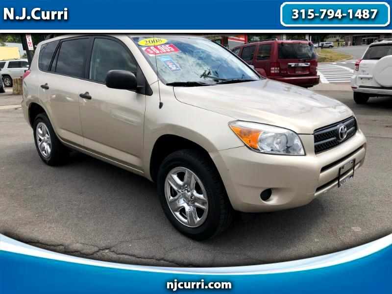 Toyota RAV4 Base I4 4WD with 3rd Row 2008