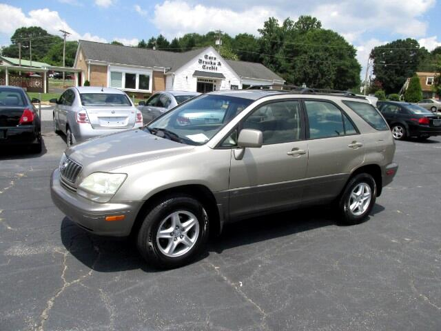 buy here pay here 2001 lexus rx 300 4wd for sale in lincolnton nc 28092 cars trucks credit inc. Black Bedroom Furniture Sets. Home Design Ideas
