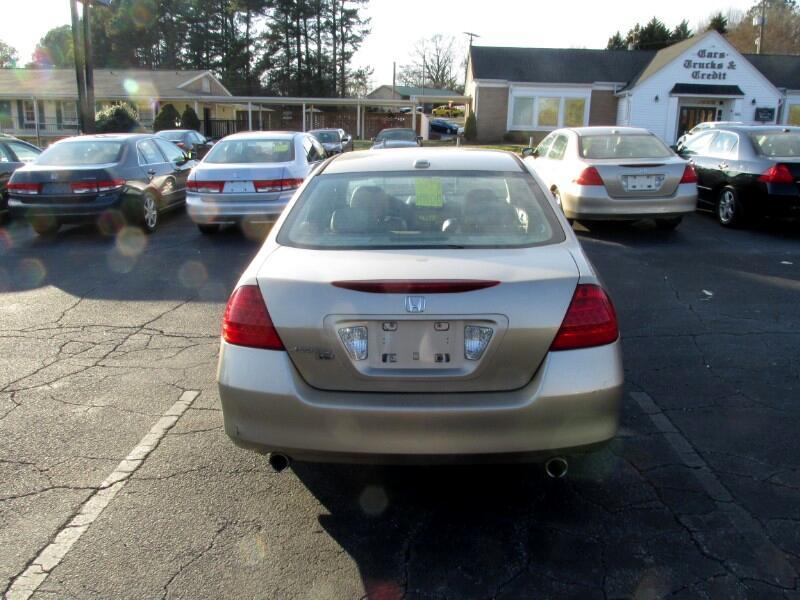 2007 Honda Accord Sdn 4dr V6 AT EX-L