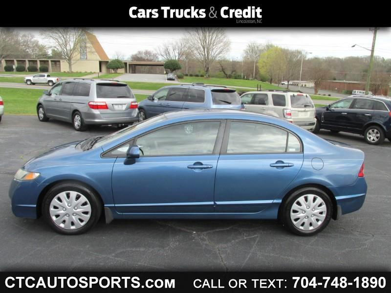 2009 Honda Civic Sdn 4dr Auto LX