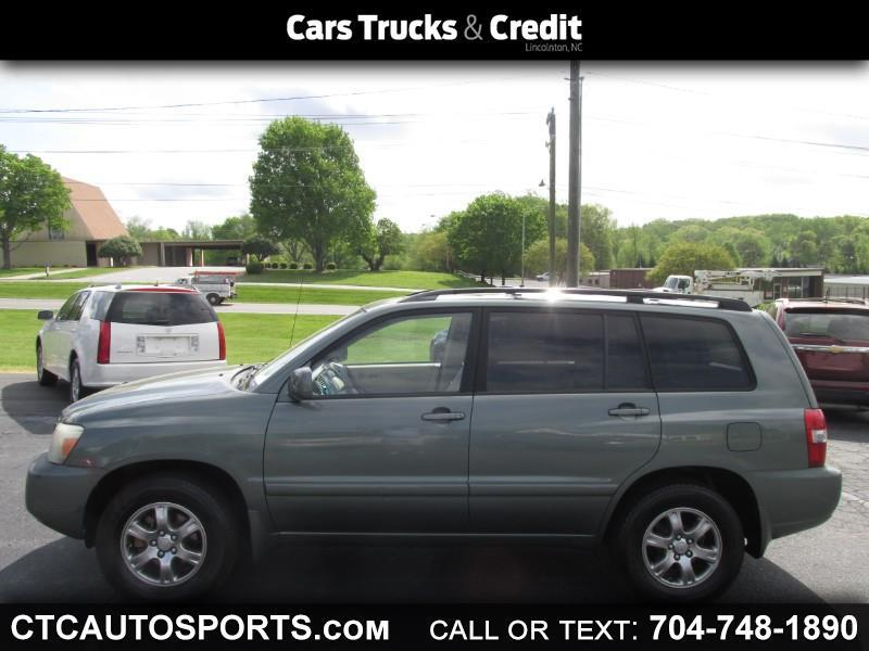 2004 Toyota Highlander 4dr 4-Cyl (Natl)
