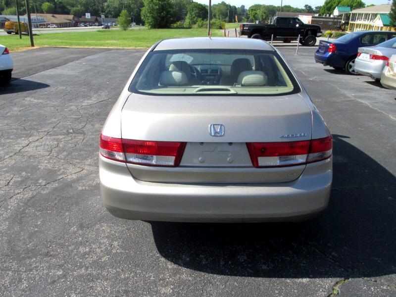 2004 Honda Accord Sdn LX Auto