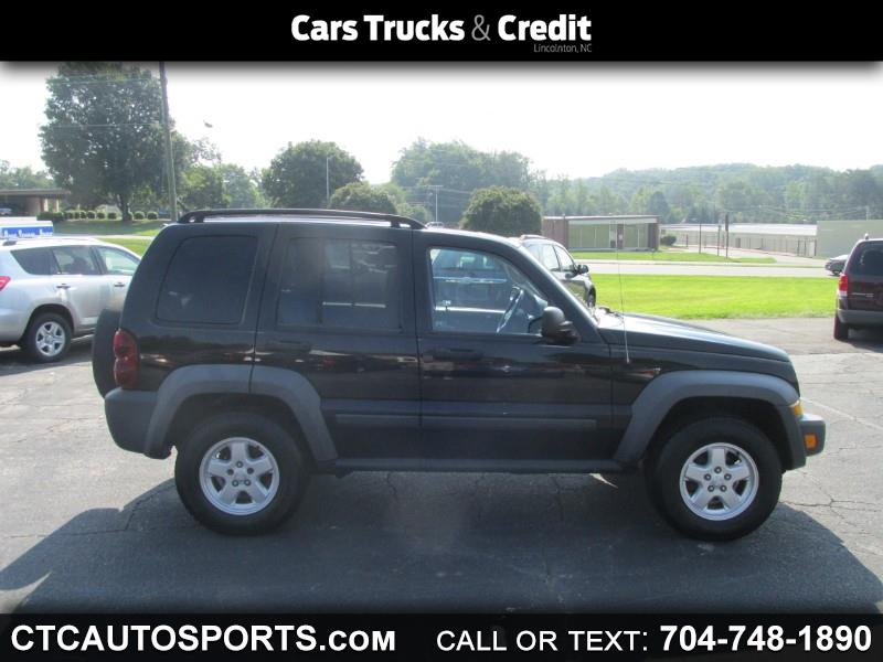 2007 Jeep Liberty 2WD 4dr Sport