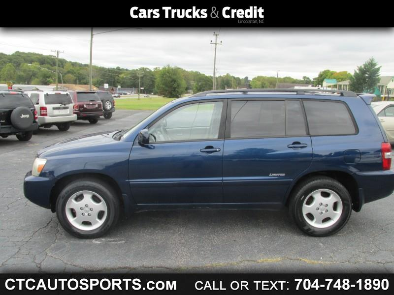 Toyota Highlander 4dr V6 4WD Limited w/3rd Row (Natl) 2006